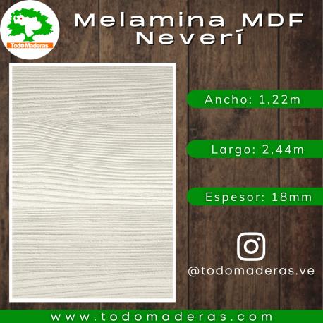 Melamina MDF Neverí 18mm