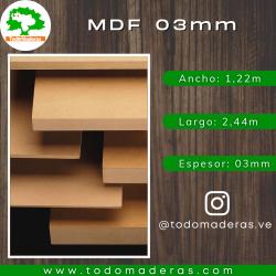 MDF 03mm