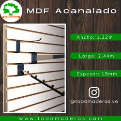 MDF Acanalado