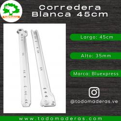 Corredera Blanca 45cm
