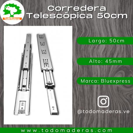 Corredera Telescópica 50cm