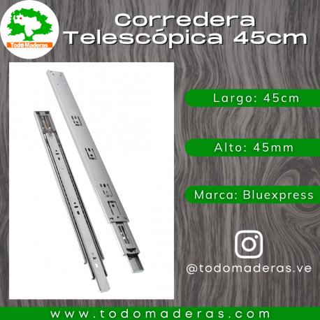 Corredera Telescópica 45cm