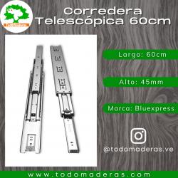Corredera Telescópica 60cm