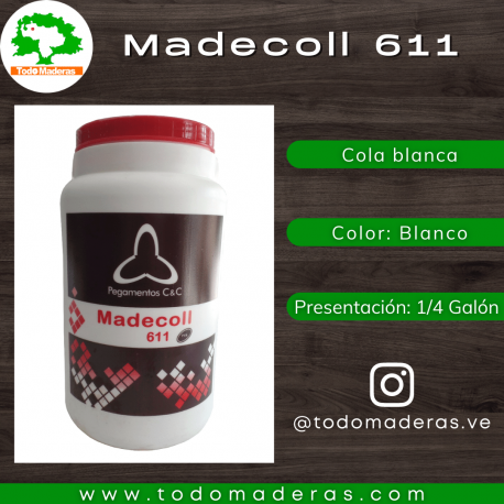 Cola Blanca Madecoll 611