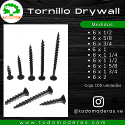 Tornillo Drywall