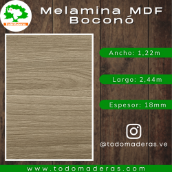 Lamina MDF (15mm - 1,22m x 2,44m)