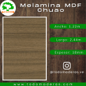 Lamina MDF (18mm - 1,83m x 2,44m)