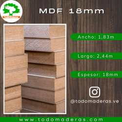 ROBLE MORO (15mm - MDF)